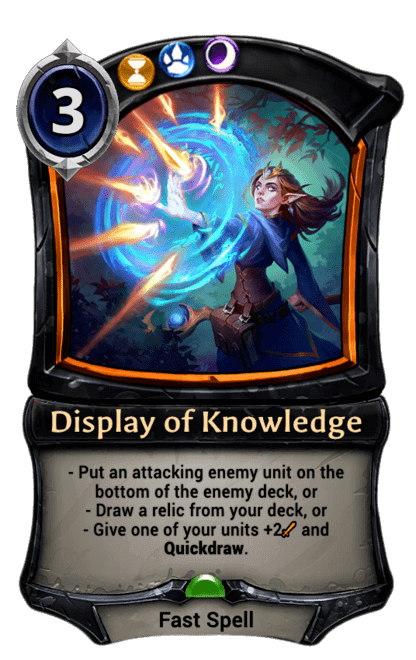 Card image for Display of Knowledge