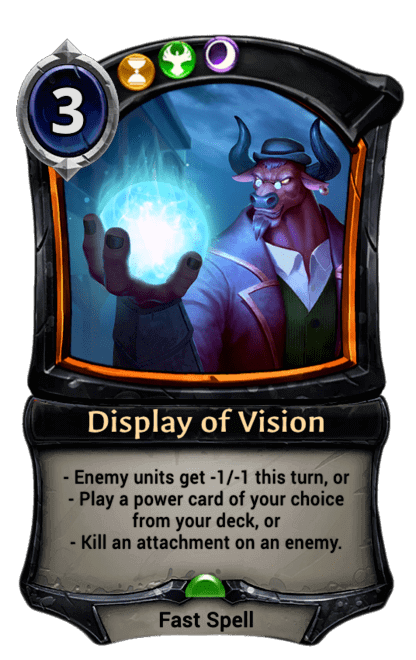 Card image for Display of Vision