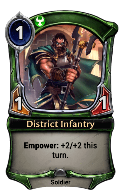 Card image for District Infantry