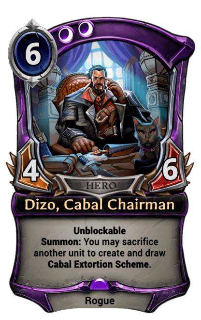 Card image for Dizo, Cabal Chairman