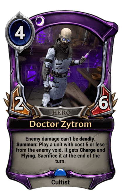 Card image for Doctor Zytrom