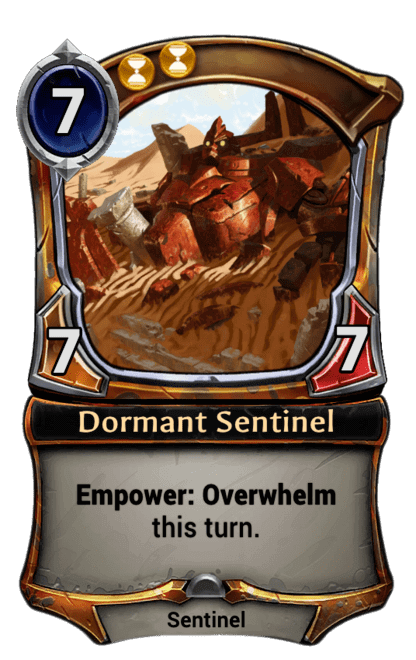 Card image for Dormant Sentinel