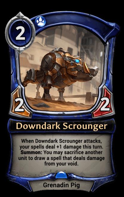 Card image for Downdark Scrounger