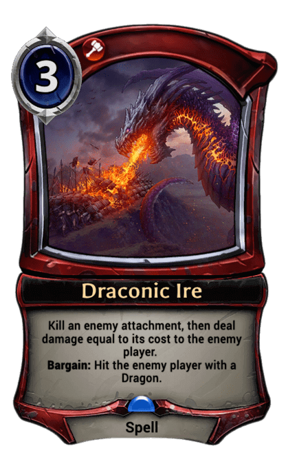 Card image for Draconic Ire