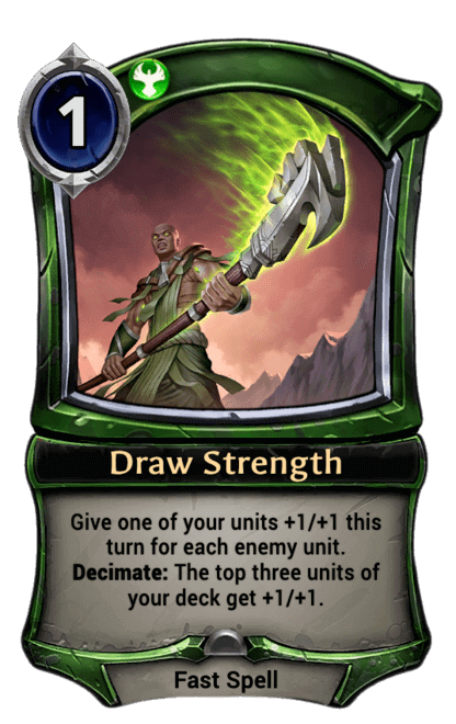Card image for Draw Strength