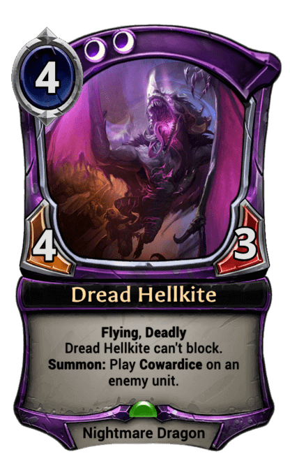 Card image for Dread Hellkite