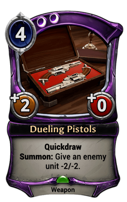 Card image for Dueling Pistols