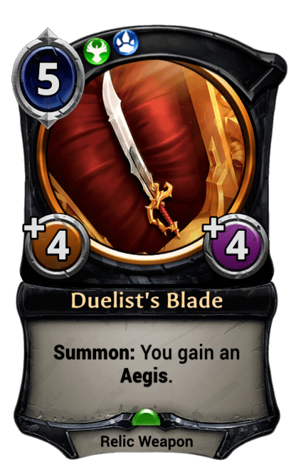 Card image for Duelist's Blade