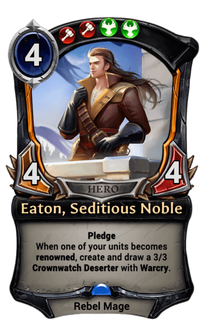Card image for Eaton, Seditious Noble