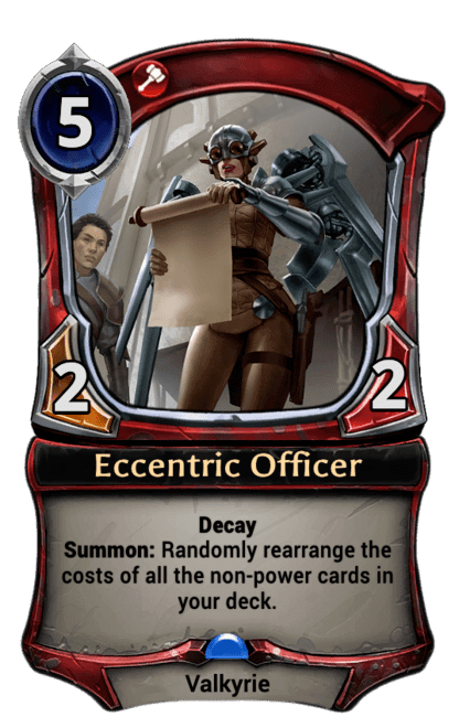Card image for Eccentric Officer