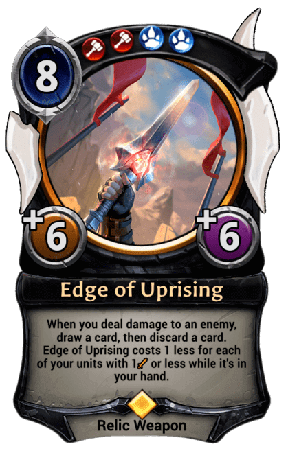 Card image for Edge of Uprising