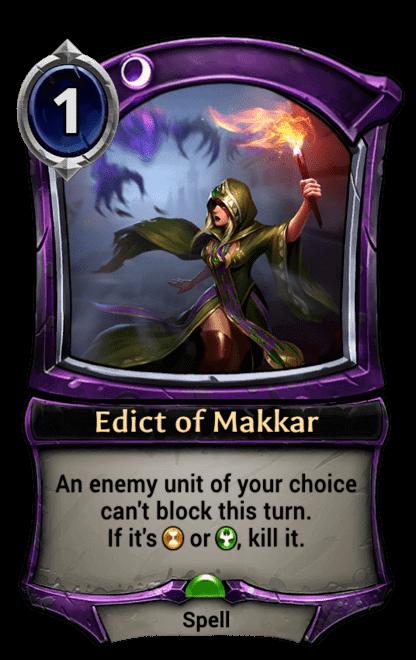 Card image for Edict of Makkar