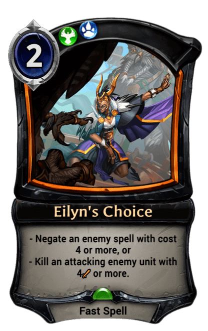Card image for Eilyn's Choice