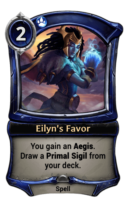 Card image for Eilyn's Favor