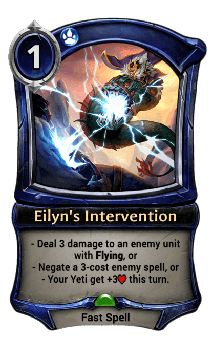 Card image for Eilyn's Intervention