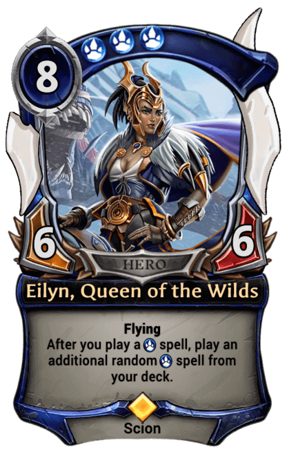 Card image for Eilyn, Queen of the Wilds