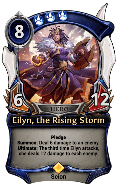 Card image for Eilyn, the Rising Storm