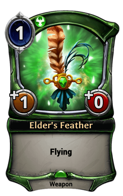 Card image for Elder's Feather