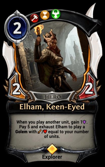 Card image for Elham, Keen-Eyed