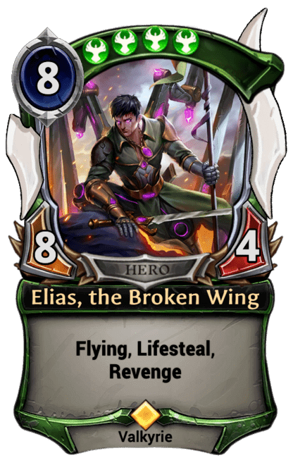 Card image for Elias, the Broken Wing