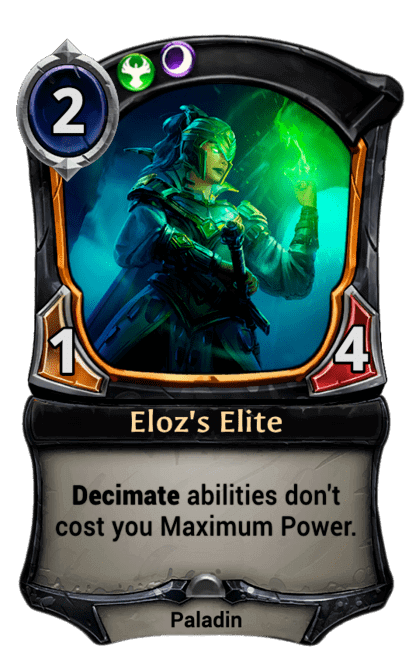 Card image for Eloz's Elite