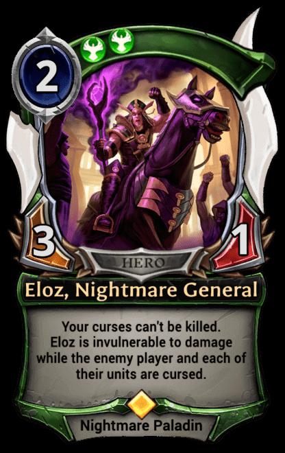 Card image for Eloz, Nightmare General