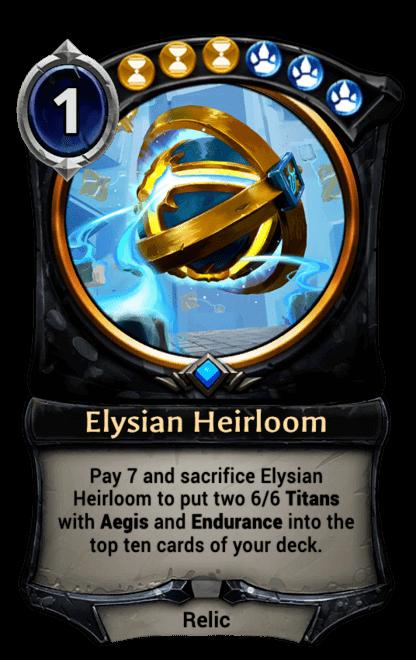 Card image for Elysian Heirloom