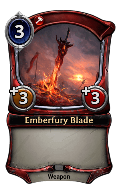 Card image for Emberfury Blade