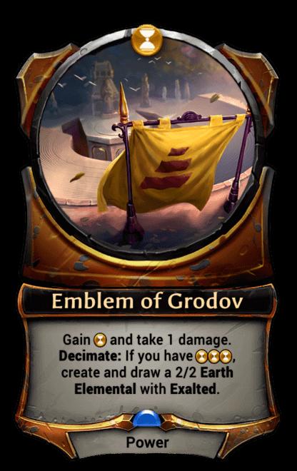 Card image for Emblem of Grodov
