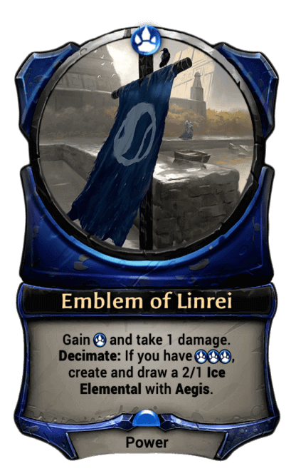 Card image for Emblem of Linrei