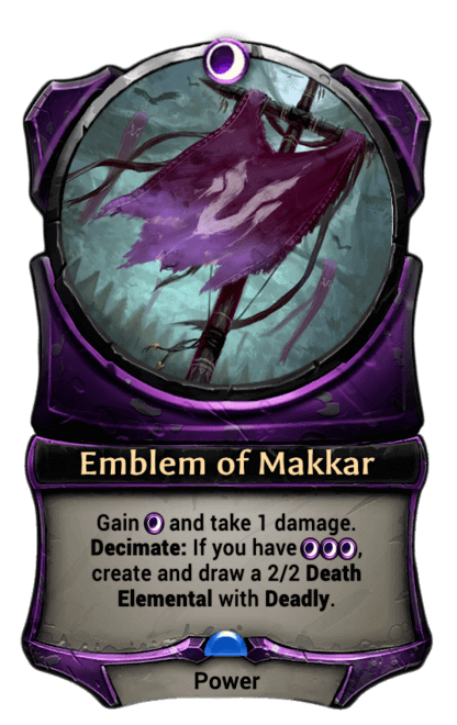 Card image for Emblem of Makkar