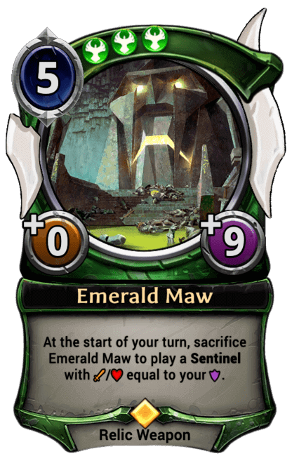 Card image for Emerald Maw