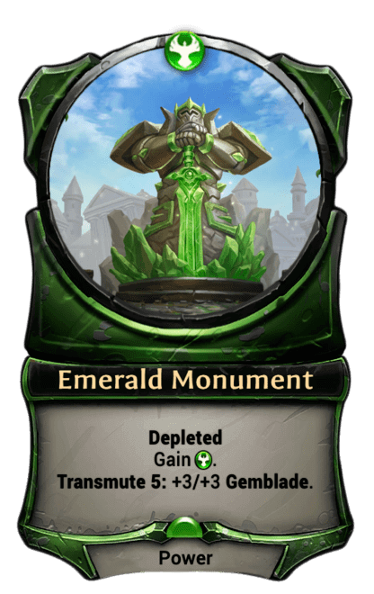 Card image for Emerald Monument