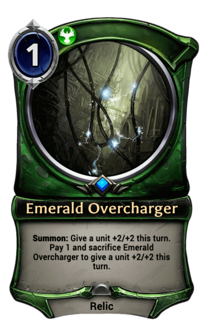 Card image for Emerald Overcharger