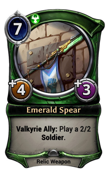 Card image for Emerald Spear