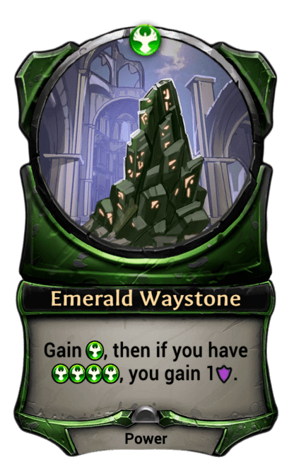 Card image for Emerald Waystone