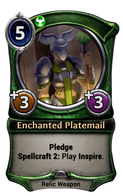 Card image for Enchanted Platemail