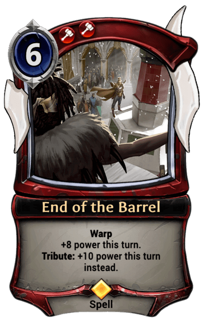 Card image for End of the Barrel