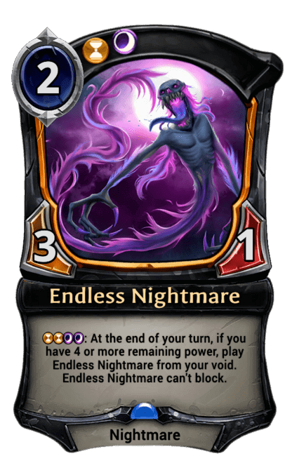Card image for Endless Nightmare