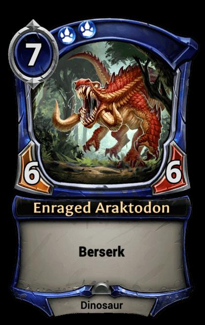 Card image for Enraged Araktodon