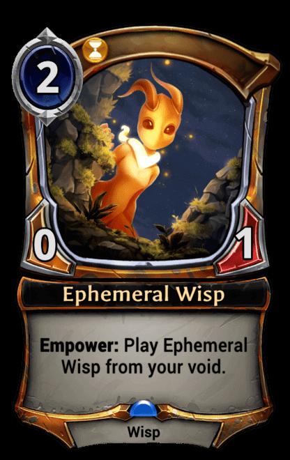 Card image for Ephemeral Wisp