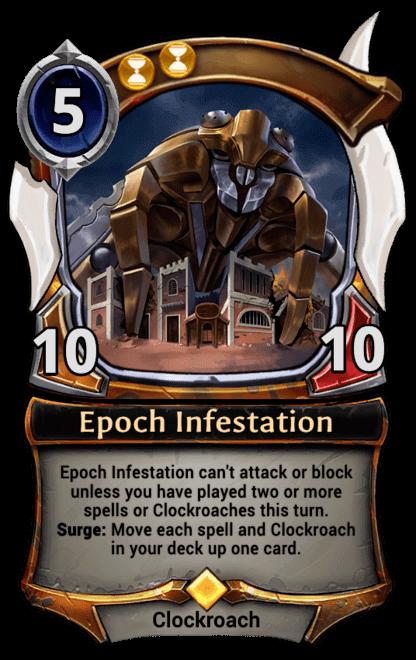 Card image for Epoch Infestation