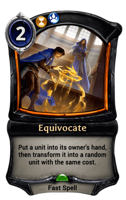 Card image for Equivocate
