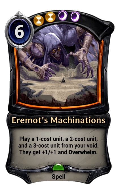 Card image for Eremot's Machinations