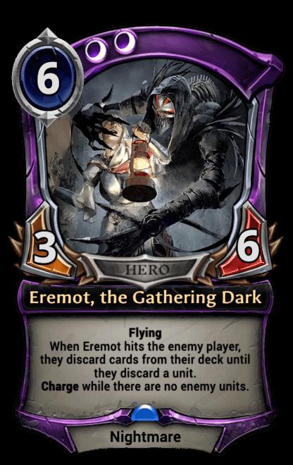 Card image for Eremot, the Gathering Dark