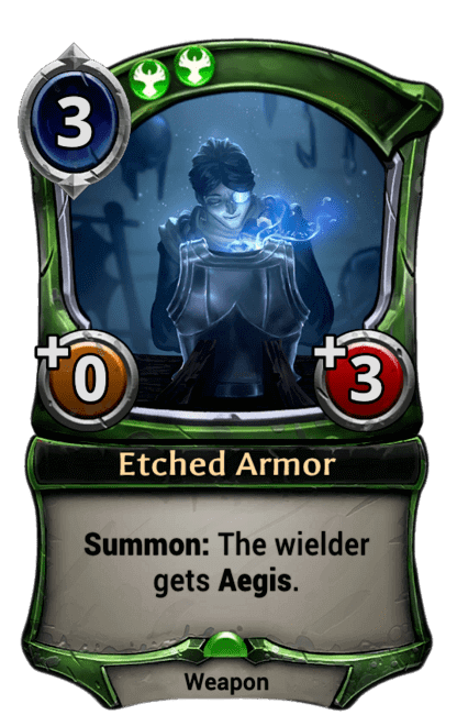 Card image for Etched Armor