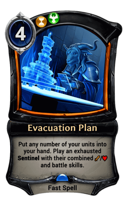 Card image for Evacuation Plan