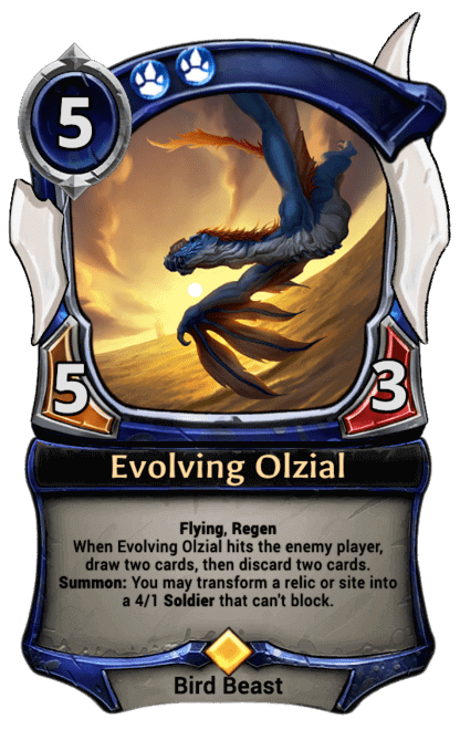 Card image for Evolving Olzial