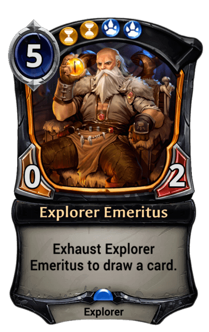 Card image for Explorer Emeritus
