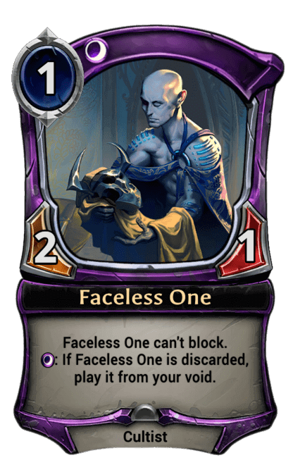 Card image for Faceless One